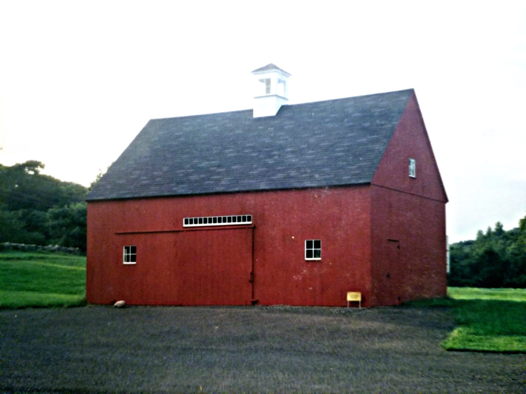 Heritage Post and Beam Red Barn