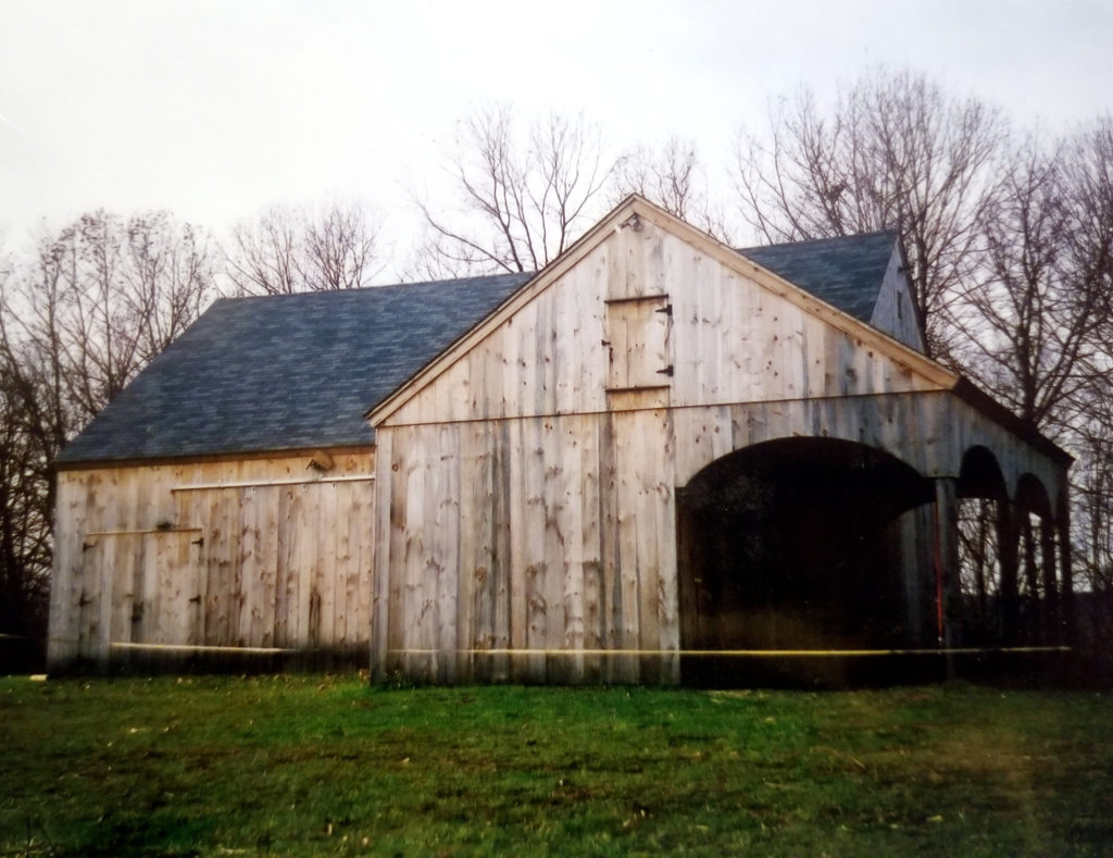 Heritage Post and Beam Rustic Barn